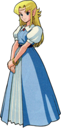 Artwork Princesa Zelda ALttP.png