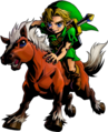 Link montado en Epona artwork MM 3D.png