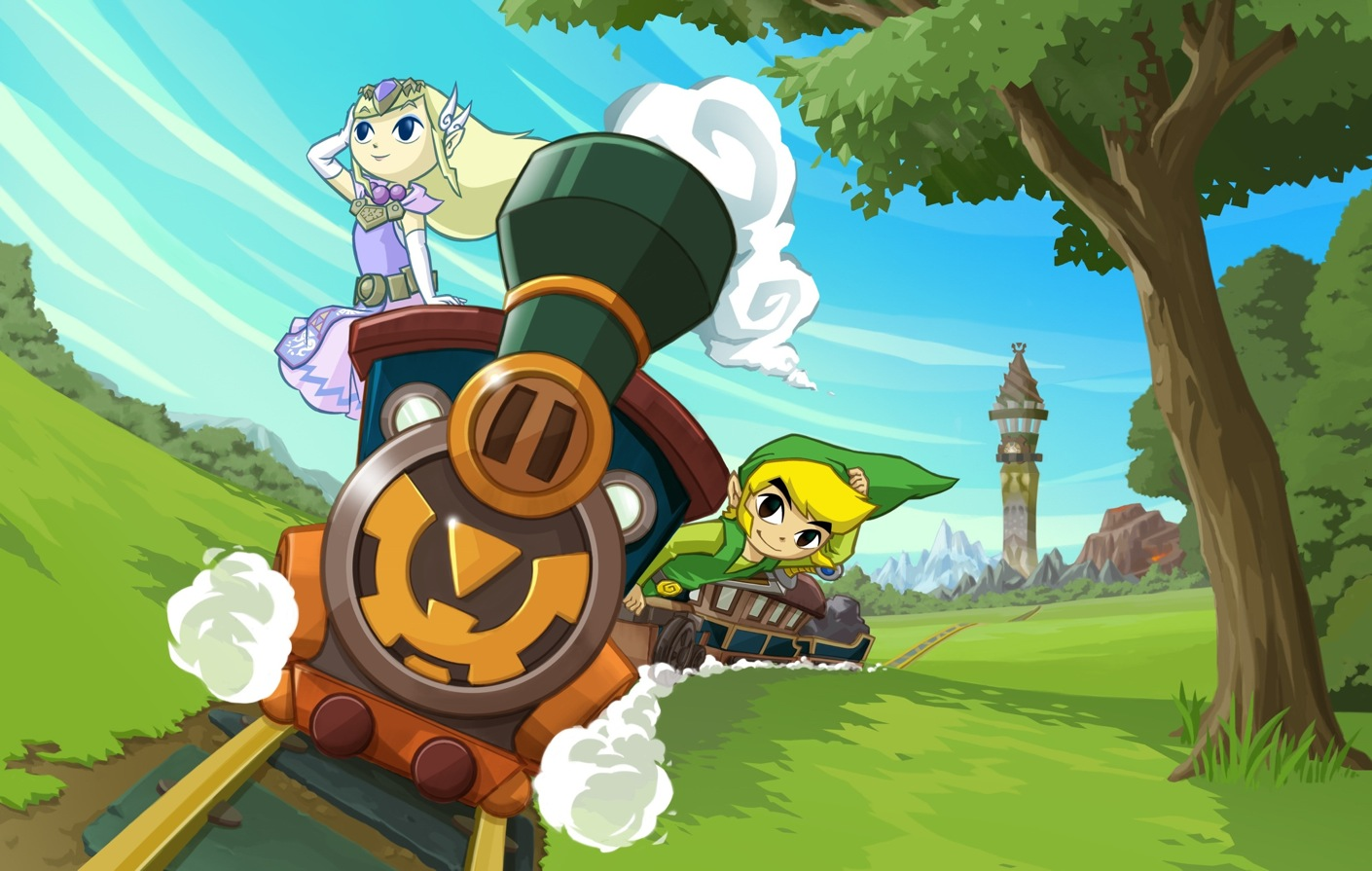 Spirit Tracks mañana a la venta en la eShop de Wii U en Norte América