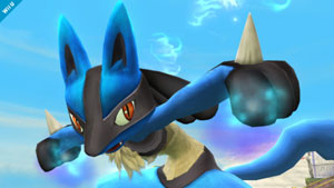Lucario se une a Super Smash Bros. 4