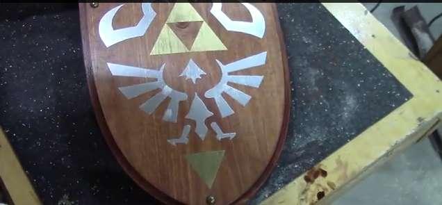 Cómo construir tu propio escudo de Link – Vídeo