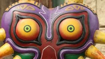 La máscara de Zelda Majora's Mask a la venta en Kickstarter