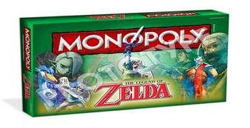 Monopoly de Zelda se adelanta al 21 de agosto y puzle a la vista