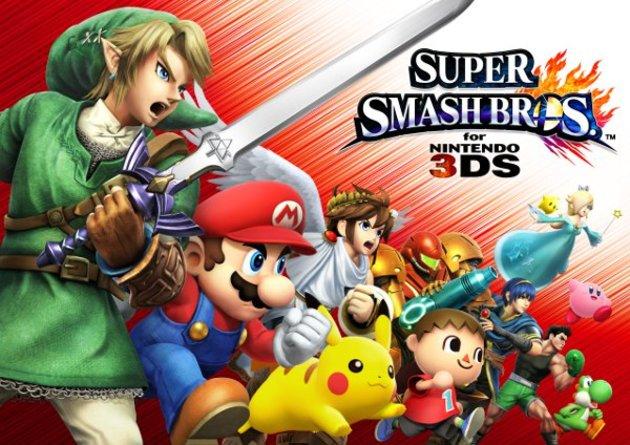 Listado completo de personajes de Smash Bros
