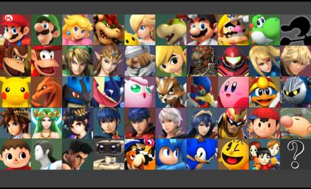Smash Bros personajes