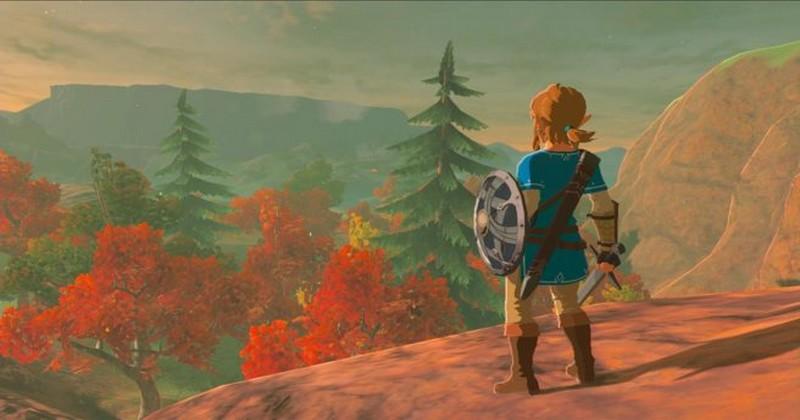 Nintendo descartó descansar sobre armas insertándolas sobre la pared en Breath of the Wild