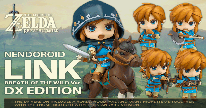 Link DX Nendoroid de Breath of the Wild ya se vende en la New York Store