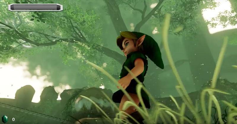 Bosque Kokiri en Unreal Engine 4