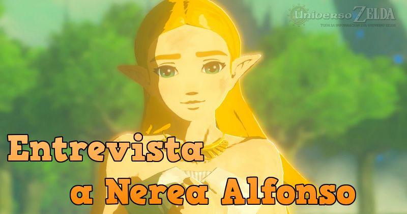 Entrevista a Nerea Alfonso, la voz de Zelda en Breath of the Wild de España