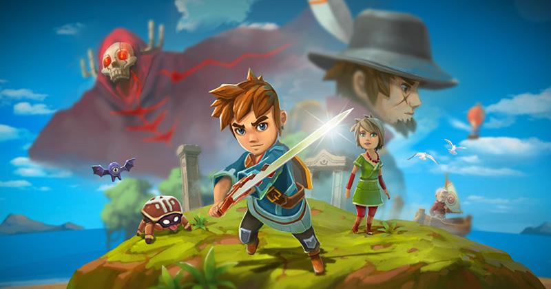 Oceanhorn, el juego inspirado por The Wind Waker, llega a Switch