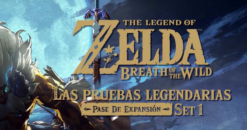 Tamaño de archivo del primer DLC de Breath of the Wild