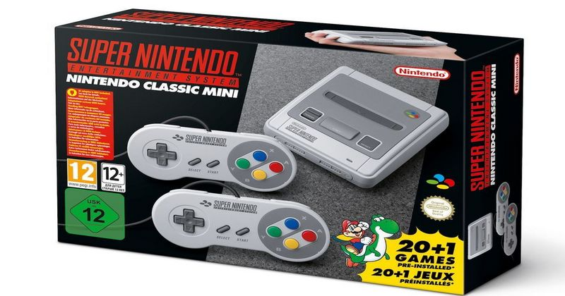 SNES Classic Mini anunciada oficialmente, 29 de septiembre a la venta