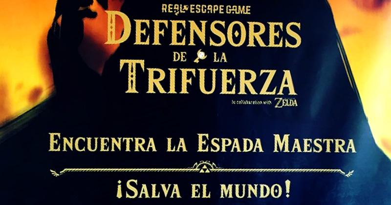 Defensores de la Trifuerza en Barcelona