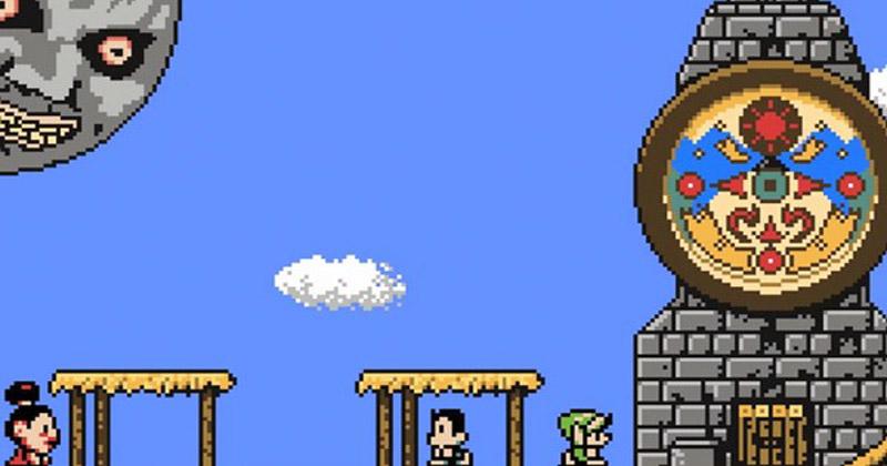 ¿Cómo sería Majora's Mask para NES?