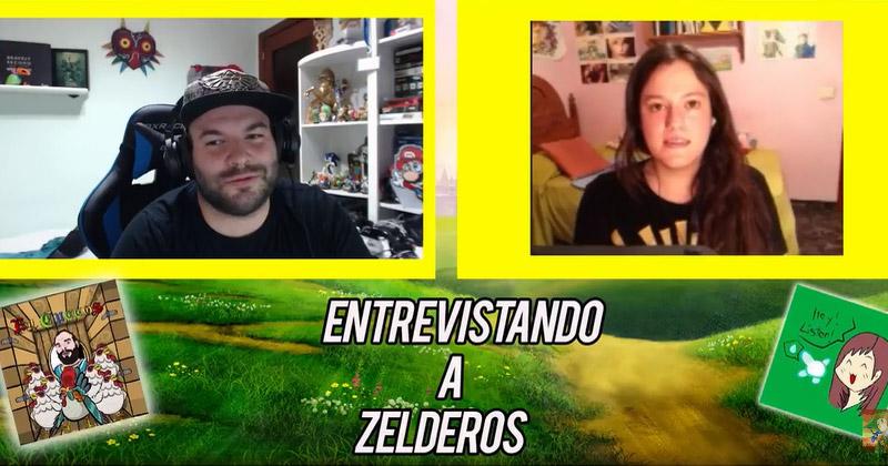 Entrevista Zeldera de Yugitachan por El Cuccos