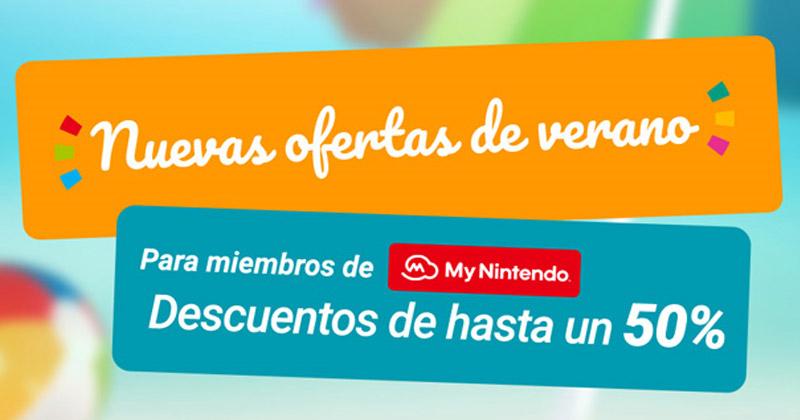 Ofertas de verano de Nintendo