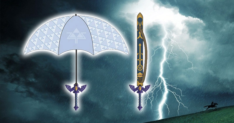 Paraguas de la Espada Maestra