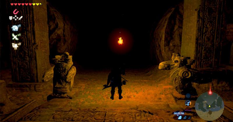 Iluminando las Ruinas de Oumbra