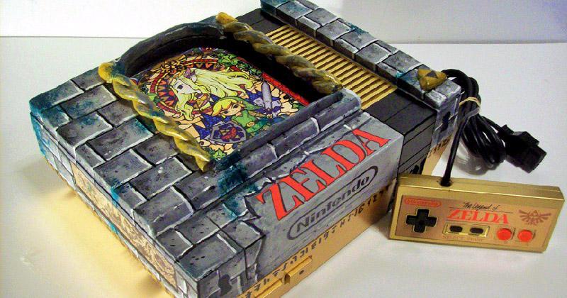 NES tuneada al estilo Zelda
