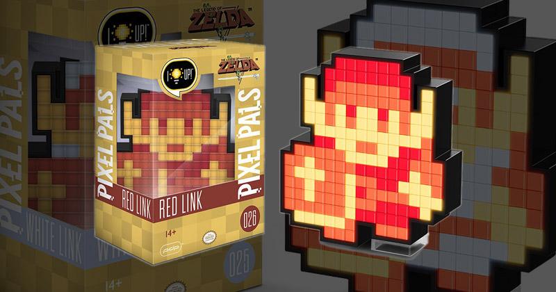 Nuevas luces PixelPals de Link 8 bits