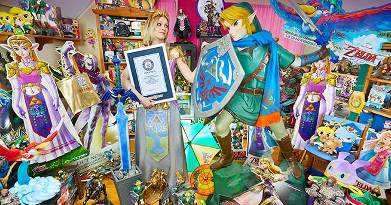 La mayor colección de Zelda según el Libro Guinness de los Récords