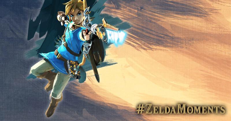 Concursos #ZeldaMoments de Nintendo UK