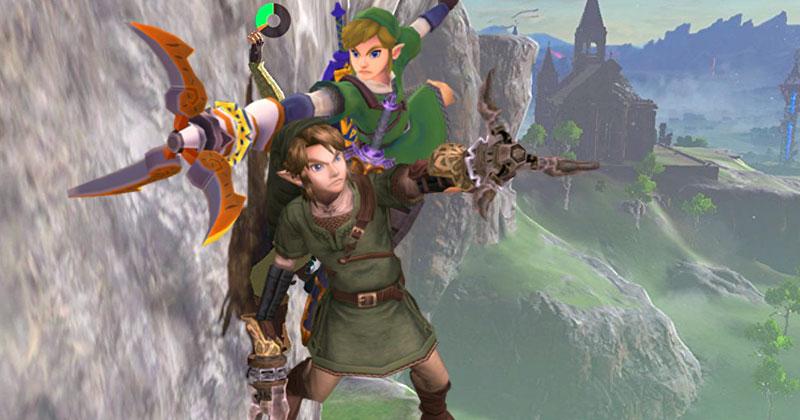 Por qué Nintendo descartó el gancho doble en Breath of the Wild