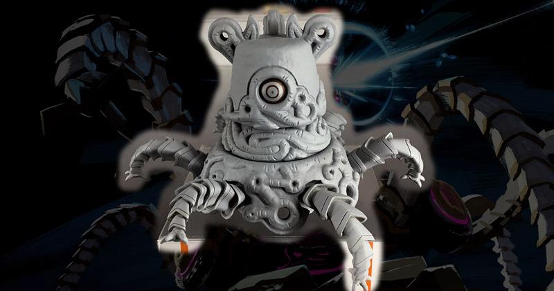 Prototipo del Guardián Nendoroid en la Tokyo Comic Con