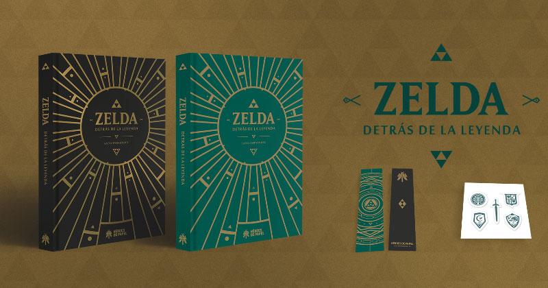 Detrás de la Leyenda, el libro sobre Zelda