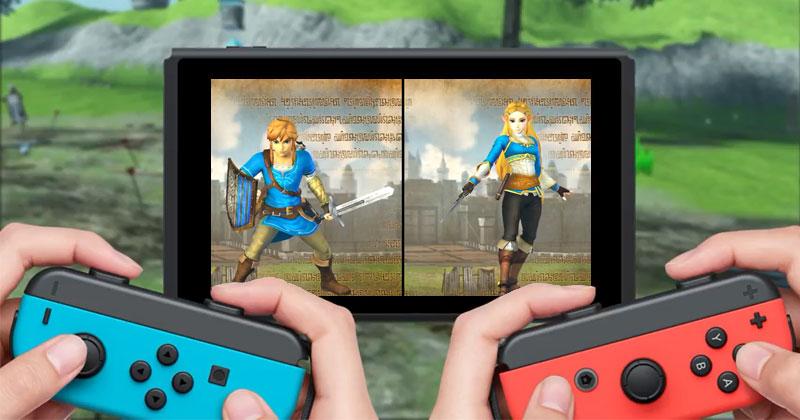 Link y Zelda de Breath of the Wild en Hyrule Warriors DE