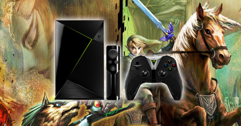 Twilight Princess en 1080p para Nvidia Shield