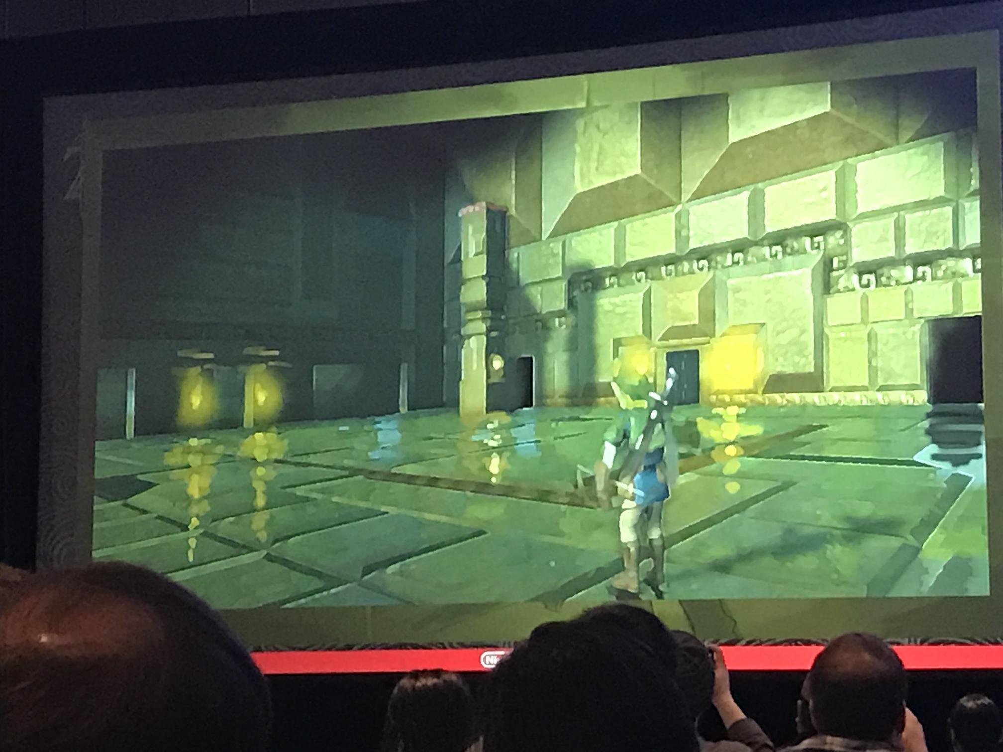 Imágenes conceptuales y de desarrollo de Zelda: Breath of the Wild