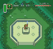 Link obtiene la Espada Maestra ALttP.png