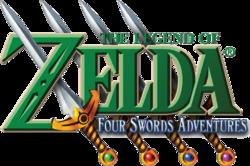 The Legend of Zelda - Four Swords Adventures (logo).png