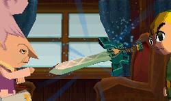 Radiel le entrega a Link la Espada Trenebundo ST.png