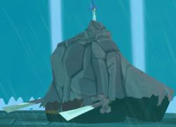Ganondorf petrificado WW.png