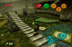 Link en el puente del Bosque Kokiri.jpg