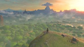 Captura paisaje inicio juego BotW.jpg