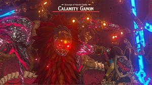 Link ante Ganon el Cataclismo captura BotW.jpg