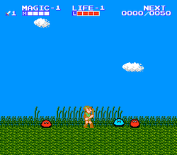 Vista del juego (The adventure of Link).png
