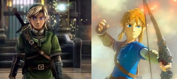 Link Zelda U