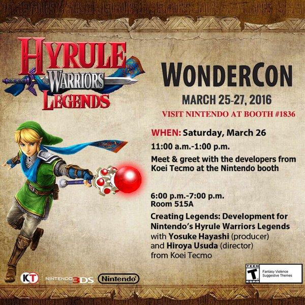 Wondercon Hyrule Warriors Legends