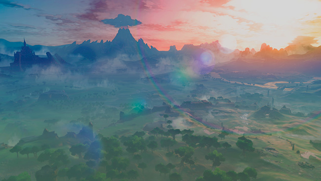 Hyrule Breath of the Wild