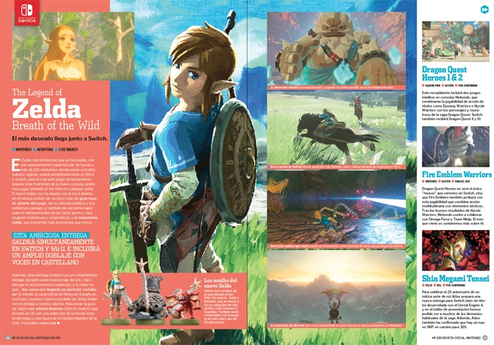 Revista Oficial Nintendo 293 Universo Zelda